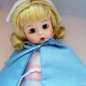 A gift I received a Madame Alexander Nurse Doll
