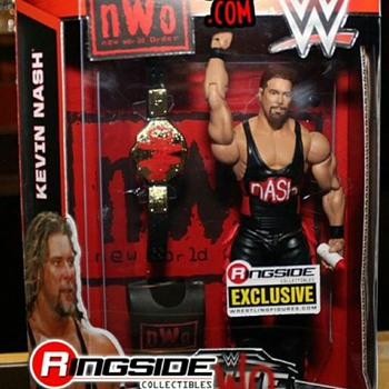 Mattel WWE Ringside exclusive Kevin Nash action figure