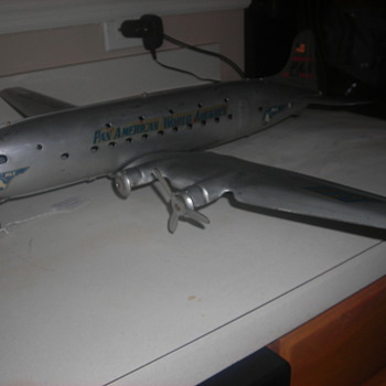 Marx Made Pan Am Airline plane...How old?  Can you tell me?