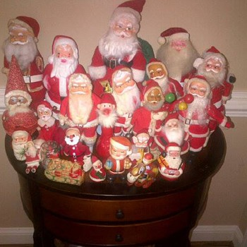 Vintage Santa Collection  - Christmas
