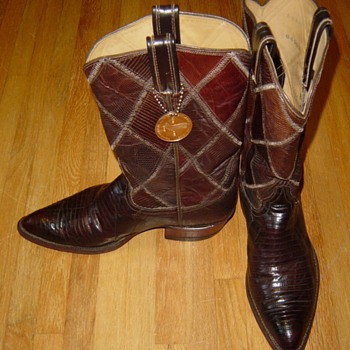 VTG Tony Lama Boots Question?