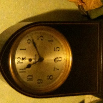 "My only electric clock ""Telechron"""