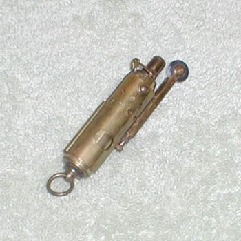 Brass Trench-type Lighter - Tobacciana
