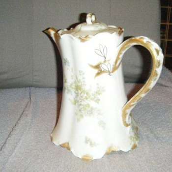 Haviland China tea pot