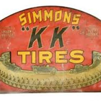 Keen Kutter Tires Flange Sign