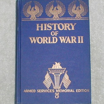 1945 History of World War II - Books