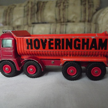 Matchbox hoveringham dump truck.