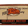 Purdue University Creamery advertising shield