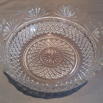 "Antique/vintage bowl 7"" x 2 1/2"""
