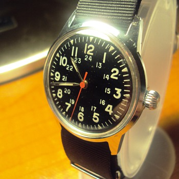 Custom Built Timex - 24 Hour Military Style - Wristwatches