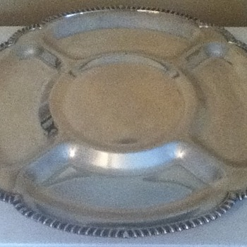 Vintage Lazy Susan by the Friedman Silver Company - Kitchen