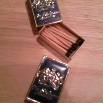 Boxes of matches from the old Shelburne Hotel, Atlantic City