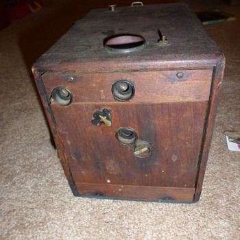 Unknown box camera - Can you help?
