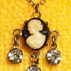 Very Tiny Cameo Pendant