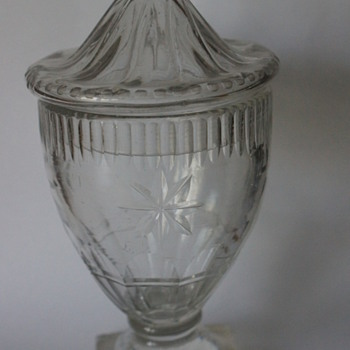 Rummer and Cover - Art Glass