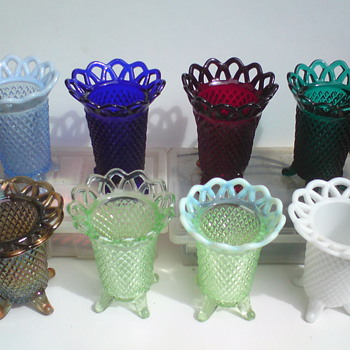 Imperial Genie vases c1929 - Glassware