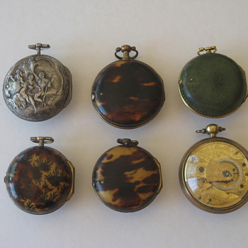 Antique English & German Verge Fusee Pocket Watch Grouping  - Pocket Watches