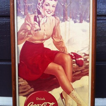 canvas pictures - Coca-Cola