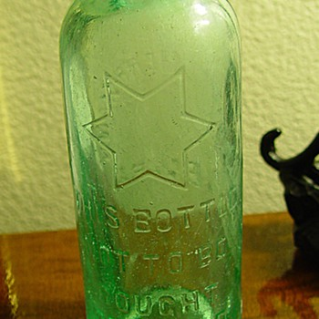 A George Herrmann Bottle - Bottles