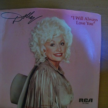 Dolly Parton 45 - Records