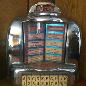 old diner Jukebox