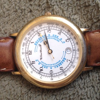 Vintage Time Chain Men's Wrist Watch - Wristwatches