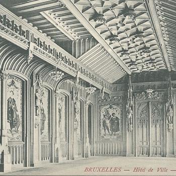 BRUXELLES - HÔTEL DE VILLE – SALLE GOTHIQUE. - Postcards