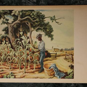 Thomas Hart Benton - Old Postcard - Postcards