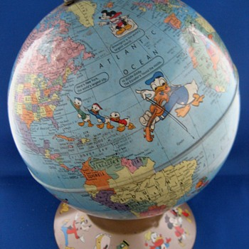 Disney-Rand McNally World Globe