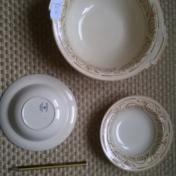 victorian johnson bros england - China and Dinnerware