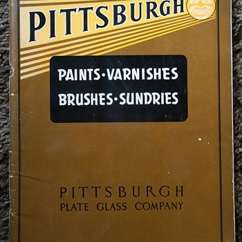 Pittsburgh Paints 1941 Catalog - Hardware Store finds - Advertising