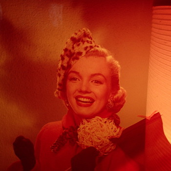Marilyn Monroe Negative Photo - Movies