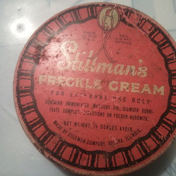 Stillman's Freckle Creme - Advertising