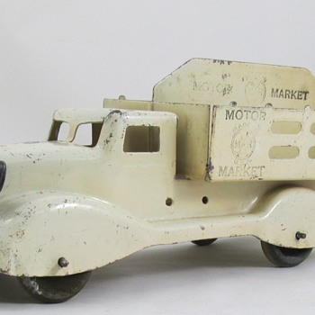 Marx Motor Market Truck