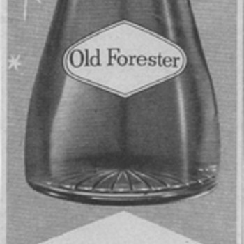 1955 Old Forester Bourbon Advertisement