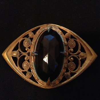Before & After Restoration of A Victorian Brooch