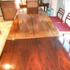 NO Moller Rosewood Dining Table and four JL Moller Rosewood Dining Chairs