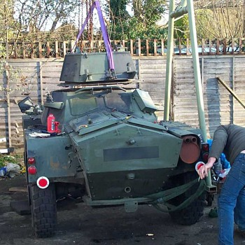 Daimler Ferret Restoration No.5 - Military and Wartime