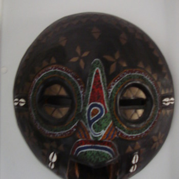 african mask - Folk Art