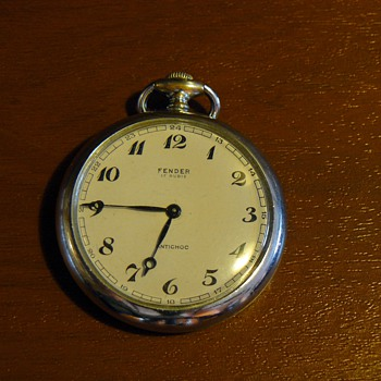 Pocket watch Fender. - Pocket Watches