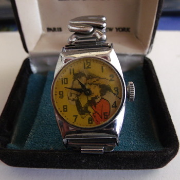 "1959 ""Flicker"" Dail Dale Evans Wrist Watch - Wristwatches"