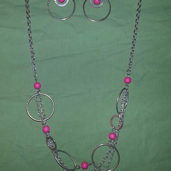 Assorted Circles Necklaces - Costume Jewelry