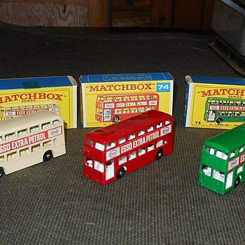 Matchbox #74 Daimler Bus