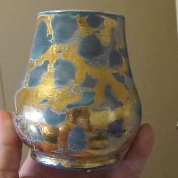 Mexican art pottery vase