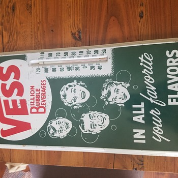 Vess thermometer - Advertising