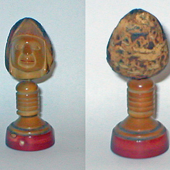 unknown origin indian/inca souvenir 3.75 inches tall - Native American