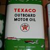 N.O.S. Texaco outboard motor oil