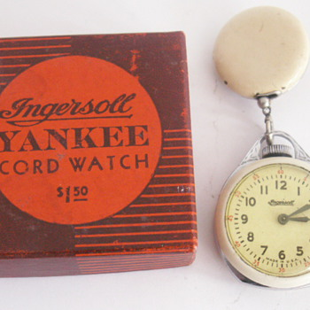 Ingersoll Cord Watch - Pocket Watches