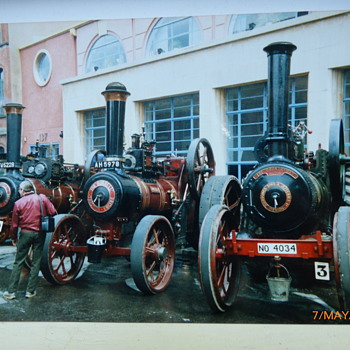 1989-old Birmingham-traction engine rally.