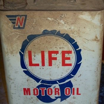 LIFE motor oil......2 gallon can